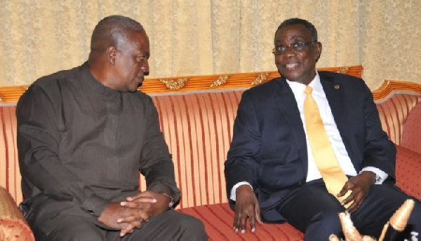 \'Frustrated\' Mahama tried to resign as Vice President before Prof Mills died