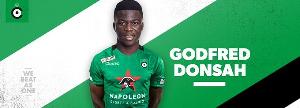 Donsah has joined Cercle Brugge on a season long loan