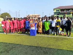 Christian football team scored the Muslim football team 1:0