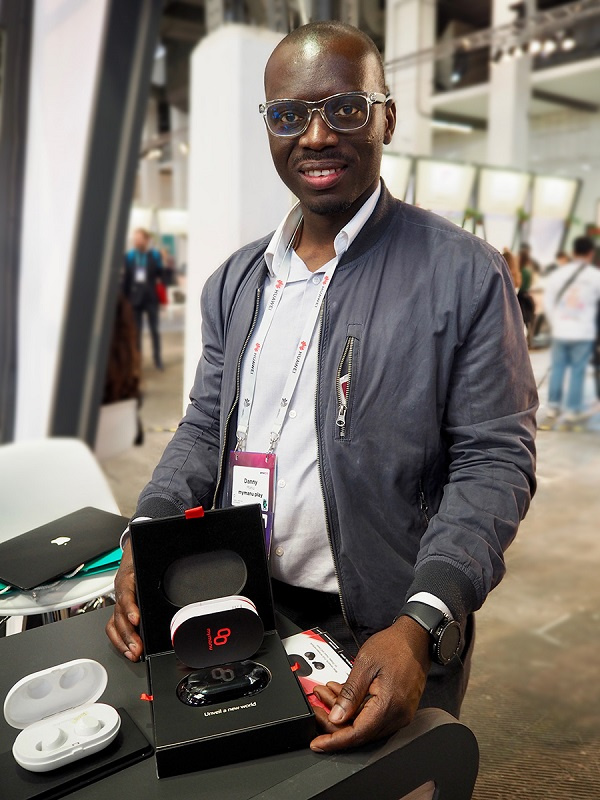 How a Ghanaian entreprenuer developed wireless earbuds that can translate 40 languages