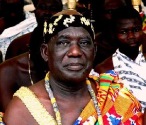 Osabarima Kwesi Atta II, Paramount Chief of Oguaa Traditional Area
