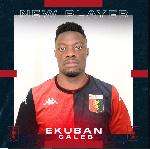 Caleb Ekuban struggling start at Italian side Genoa
