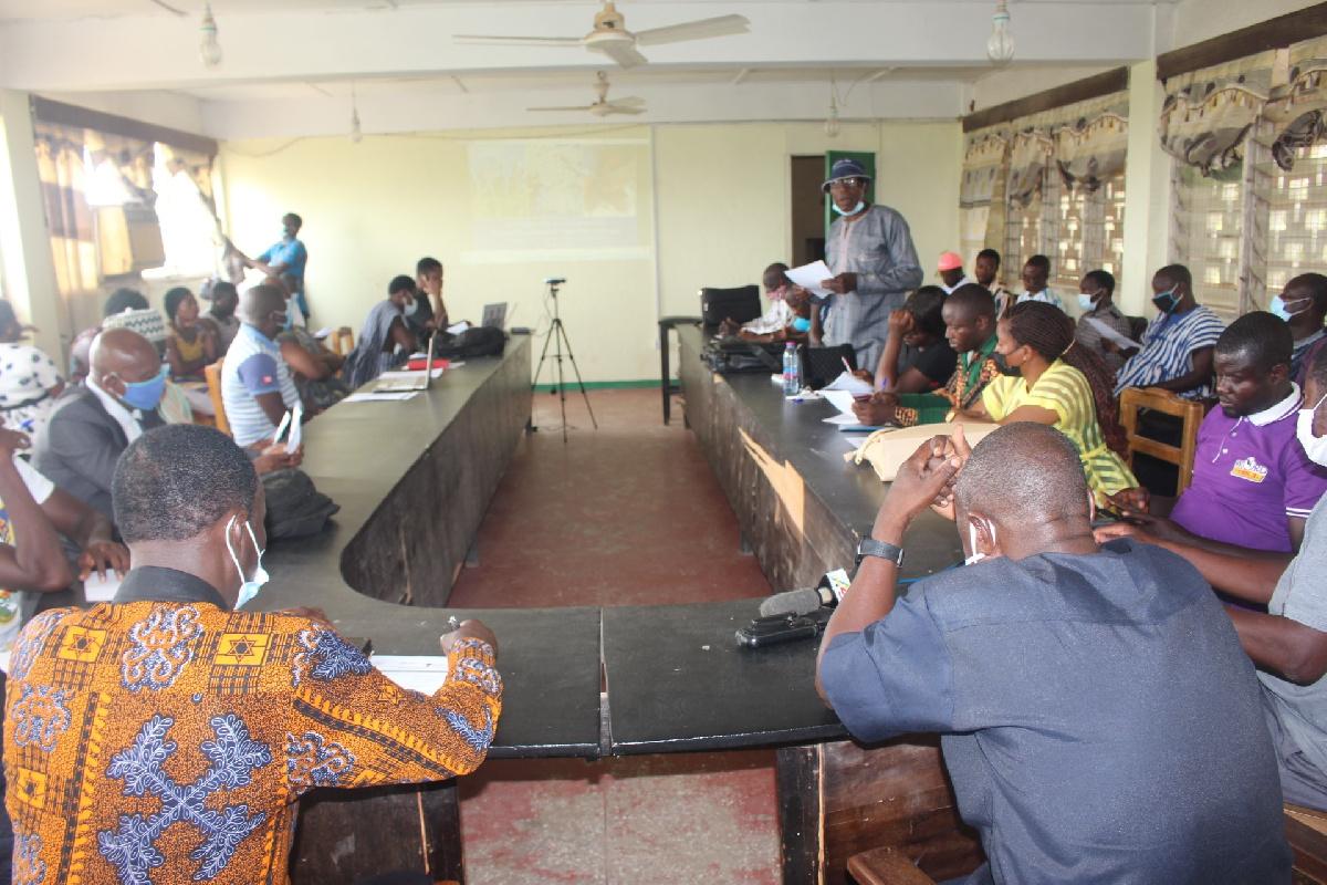 Sensitization forum organized by the Peasant Farmers Association of Ghana