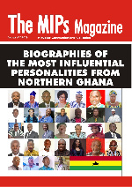 The 108-page MIPs biography magazine is the first of its kind in Ghana