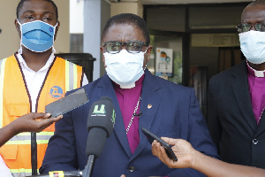 Presiding Bishop of Methodist Church Ghana, Most Rev Dr Boafo