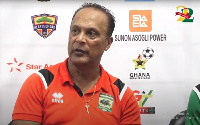 Asante Kotoko coach Mariano Barreto