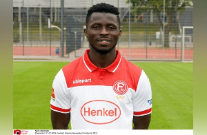 Ampomah has struggled since joining German side Fortuna Dusseldorf