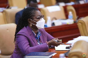 Communications and Digitalisation Minister, Ursula Owusu-Ekuful
