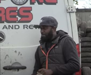 CEO of Seanpong Tyres, Sean Solomon Frimpong