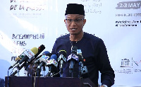 Mustapha Hamid was speaking at the launch of World Press Freedom Day 2018