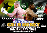 Dogboe and Juarez will battle each other on January 6th