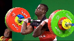 Christian Amoah is a member of Ghana's Weightlifting team
