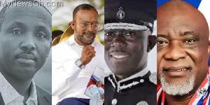 John Boadu, Owusu Bempah, Dr Dampare and Hopeson Adorye