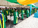 UESD holds maiden matriculation for 73 fresh students