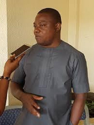 John Allotey, Deputy Chief Executive of the Forestry Commission,