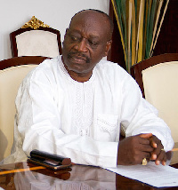 Dr Kwaku Agyemang-Mensah is the Minister of Water Resources