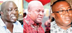 Tawia Boateng John Mahama Samuel Ofosu Ampofo
