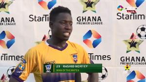 Rashid Nortey Was Man Of The Match In The Medeama Vs Asante Kotoko Clash..jpeg