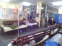 Patients at hospital ward.       File photo.
