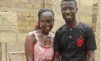 Kwaku Manu and wife