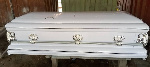 The coffin was allegedly stolen by one George Amoah