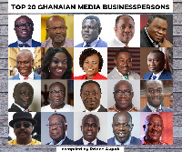 Pictures of the Top 20 Ghanaian Media Business persons