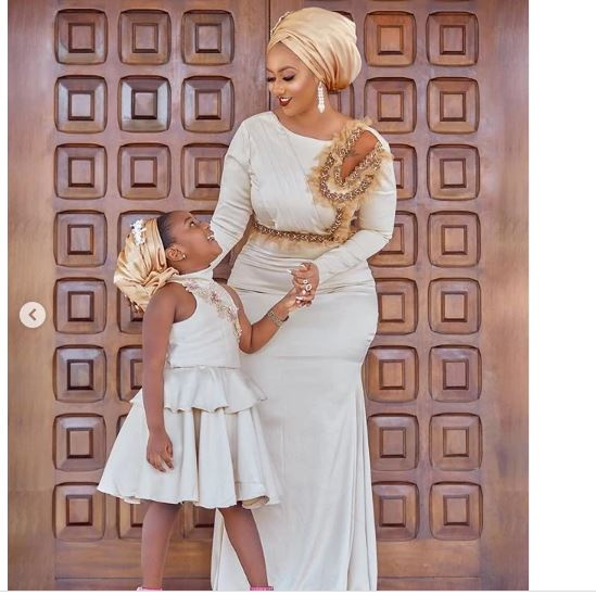 Adorable Eid moments from Hajia 4 Real and her daughter
