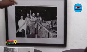 The photograph was captured by J.K. Bruce Vanderpuije, founder of Deo Gratias studio