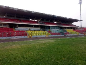 The VIP section of the stadium