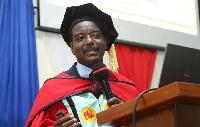 Professor Joshua Owusu Sekyere, Vice Chancellor of the Cape Coast Technical University (CCTU)