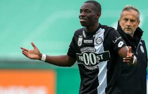 Ghanaian striker Kelvin Yeboah