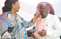 Mr and Mrs Akufo-Addo