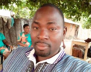 Author, Edzorna Francis Mensah