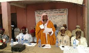 Sheikh Dr Ismail Saeed Adam, Ashanti Regional Chief Imam