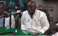The NPP flagbearer is skeptical the NDC can get its targeted 1.5 million votes in A/R
