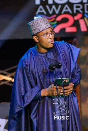 CEO of 3Music, Sadiq Abdulai Abu