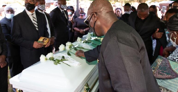 Ghana\'s ambassador to the United States attends funeral of Barbara Tommey