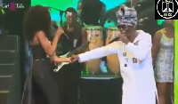 Kojo Antwi and Efya put up passionate performance at the 2016 edition of 'Girls Talk' concert