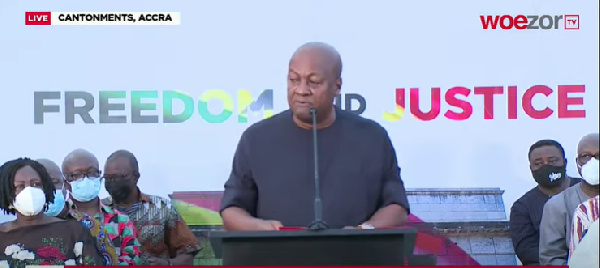 FULL TEXT: John Mahama's reaction to Supreme Court verdict on election petition