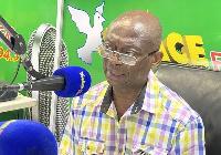 Abdul Malik Kweku Baako, the Editor-in-Chief of the Crusading Guide Newspaper