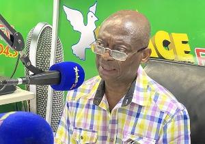 Seasoned Journalist, Abdul Malik Kweku Baako