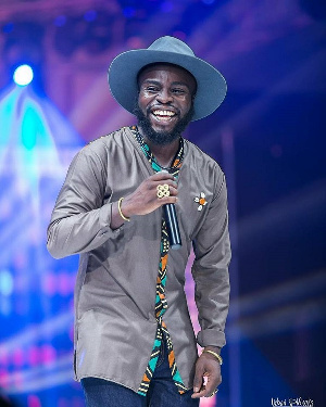 Ghanaian rapper and songwriter M.anifest