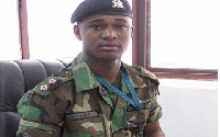 The late Maj. Maxwell Mahama