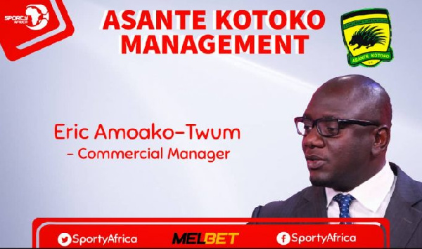 Asante Kotoko appoint Eric Amoako-Twum as Commercial Manager