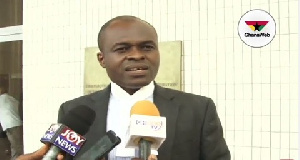 Lawyer Martin Kpebu