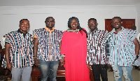Upper East Regional Minister, Tangoba Abayage thanked the team for their service