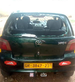 The taxi driver was shot to death by a Military officer