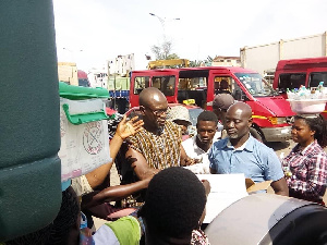 Akonnor, who was appointed in January this year, made the donation on Friday