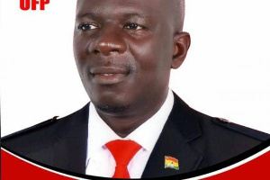 Nana Agyenim Boateng is the flagbearer of the United Front Party