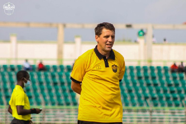 GPL: Vladislav Viric warns Dreams FC to avoid more mistakes or miss out on top 4